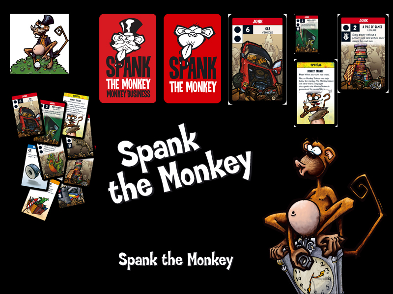Ending thumbs spank the monkey card fucking
